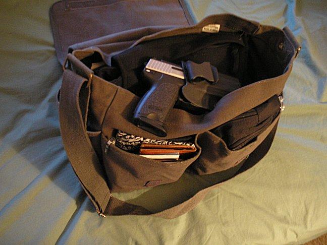 Ammo Shoulder Messenger Bag Brown 82